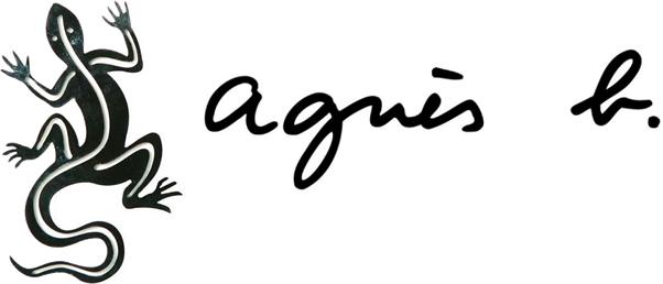 agnes.b logo